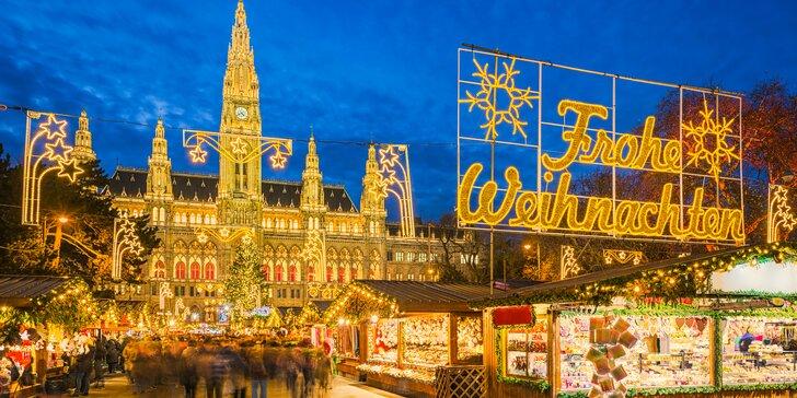 Výlet autobusem do vánoční Vídně: adventní trhy a nákupy v Primarku