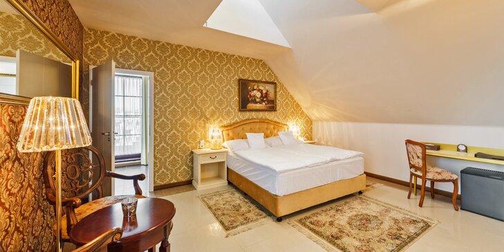 Pobyt v centru Českých Budějovic: luxusní pokoje, snídaně, večeře a wellness