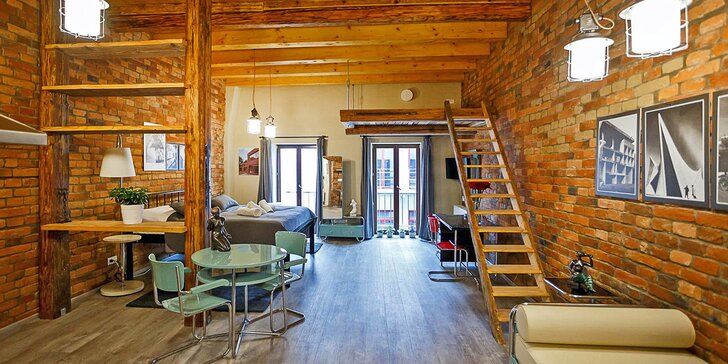 Pobyt pod Orlickými horami: jedno ze 7 designových apartmá, snídaně