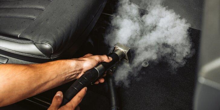 Dezinfikace vozu za pomoci ozónu: zničí viry, plísně i zápachy