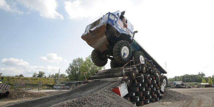 15–60 minut jízdy v kabině giganta Tatra 813 8x8 Truck Trial