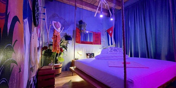 Noc v zážitkových pokojích: prožijte lásku v Indii, na Kubě nebo v atmosféře Japonska