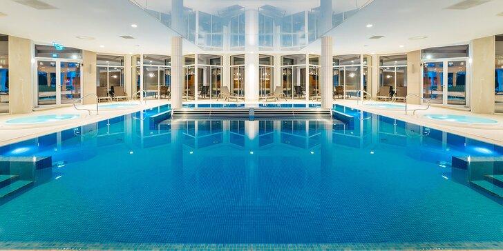 5* luxus v polských Beskydech: zbrusu nový hotel, snídaně či polopenze a neomezený wellness, dětské herny