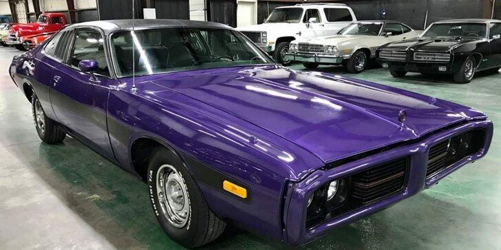 Řidičem nebo spolujezdcem v americké klasice: Dodge Charger 1973