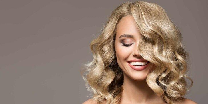 Ošetření, střih a foukaná pro všechny délky vlasů i masáž hlavy
