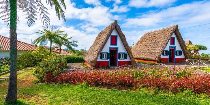 Letecky na Madeiru: 7 nocí v hotelu se snídaní, 2 různé termíny a nabitý program