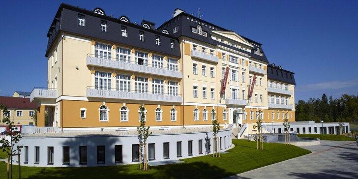4* pobyt ve Františkových Lázních: nádherný hotel, procedury, wellness a jídlo