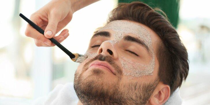 Upravený gentleman: 60minutová důkladná kosmetická péče pro muže