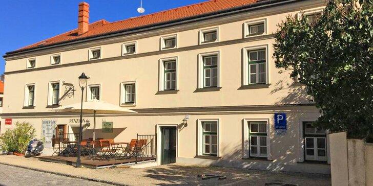 Pobyt v historickém centru Znojma: snídaně či polopenze i vstupy na památky