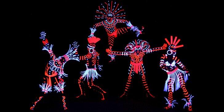 Vstupenky do čarovného světa černého Divadla Image na zářijová představení