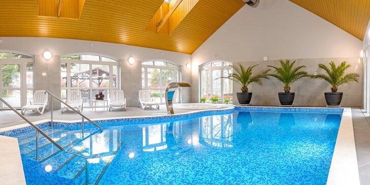 Relax v Polsku: hotel s polopenzí, neomezený wellness a solná jeskyně