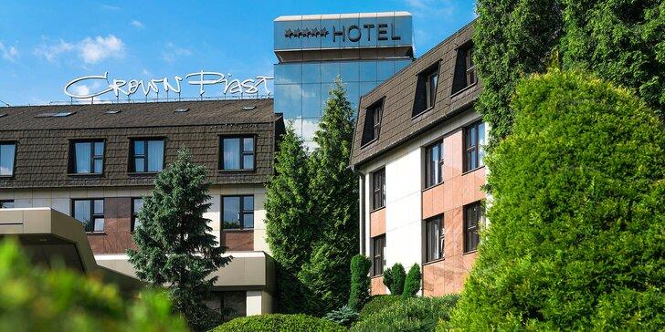 Na dovolenou do Krakova: 5* Hotel Crown se snídaní a možností wellness