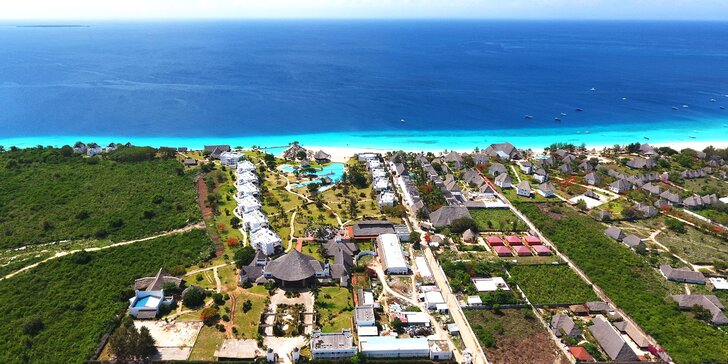 7–14 nocí na Zanzibaru: Nádherný 4* hotel přímo u pláže v Nungwi a česky hovořící delegát