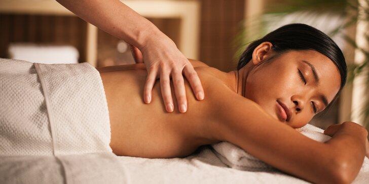 Thajský ráj: 60–90 minut relaxační masáže podle výběru