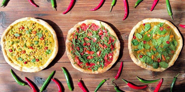 Netradiční veganská pizza dle výběru: odnos s sebou