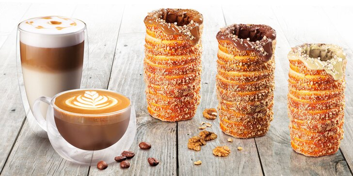 Ochutnejte sladké trdelníky: klasické, s příchutí, vymazané a třeba i s kávou