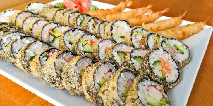 Tempura set o 41 pochoutkách přímo na Stodolní: tradiční japonský pokrm smažený v těstíčku