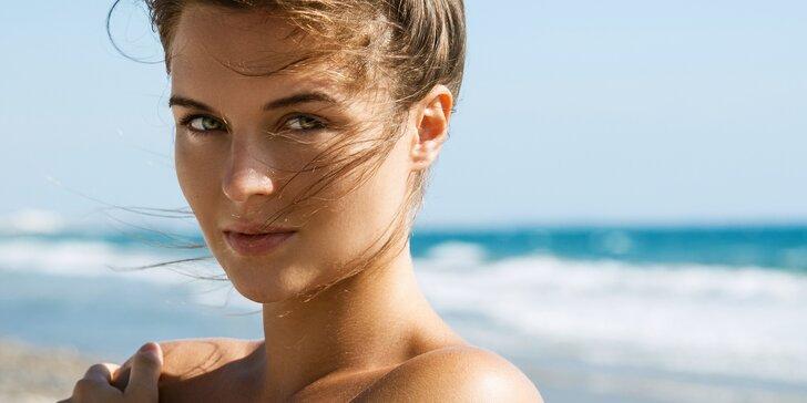 Kompletní odstranění chloupků pomocí přístroje IPL v oblasti obličeje