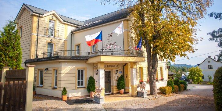 Pobyt nedaleko Adršpašských skal v pokoji Economy nebo Superior s polopenzí a wellness