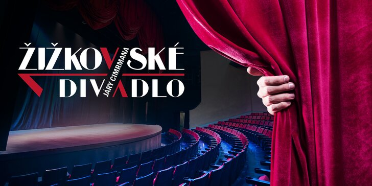 40% sleva na 2 vstupenky do Žižkovského divadla Járy Cimrmana