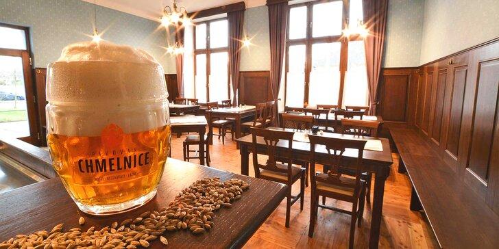Dovolená snů na Zlínsku: snídaně či polopenze i pivní lázeň nebo relaxační balíček