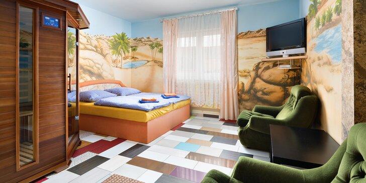 Odpočinkový pobyt na Chodsku: pokoj s vlastní saunou, solná jeskyně se solí z Mrtvého moře