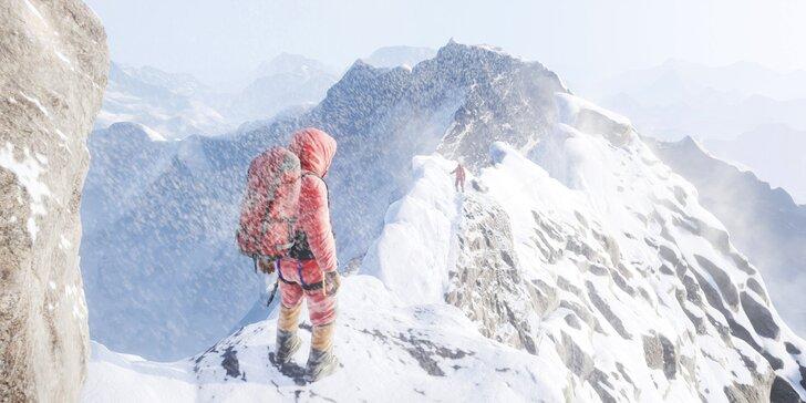 Zdolejte Mount Everest ve virtuální realitě: 50 minut pro 2 osoby