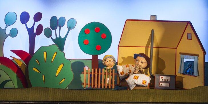 Divadlo Říše Loutek uvádí loutkové představení O Koblížkovi a O Budulínkovi