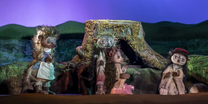 Divadlo Říše Loutek uvádí loutkové představení Ježečkové