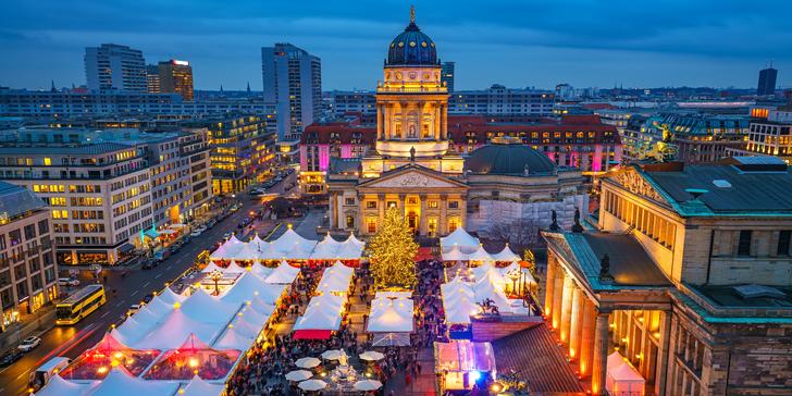 Výlet do vánočně laděného Berlína s průvodcem: památky, nákupy i trhy