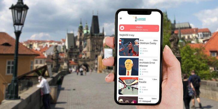 Skvělá venkovní zábava: přístup do aplikace s mnoha zajímavými výlety s prvky únikovky