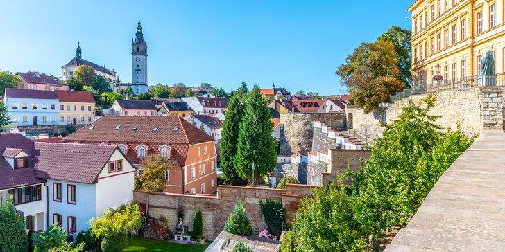 Pohodový pobyt v historických Litoměřicích vč. snídaně: 4 km od Terezína