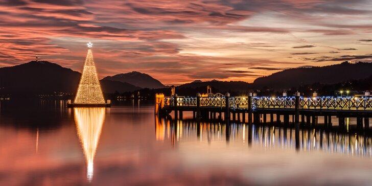 Na advent od Jadranu k alpským jezerům: doprava, průvodce i ubytování v hotelu a polopenze