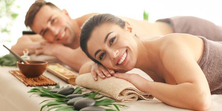 Dopřejte si relax ve dvou: Thajská tradiční párová masáž na 60 minut