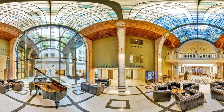Romantika v centru Budapešti: Continental Hotel se snídaněmi a neomezeným wellness