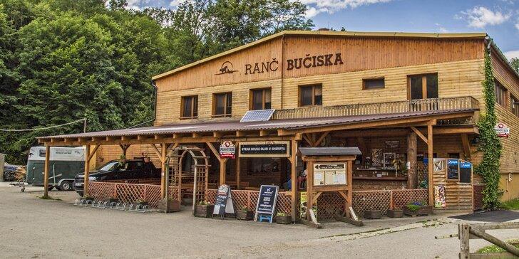 Relax i romantika na ranči Bučiska: privátní wellness i masáž a občerstvení nebo tříchodové menu
