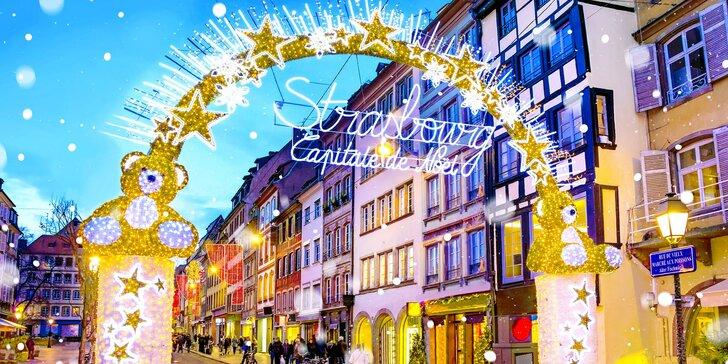 Zájezd autobusem do adventního Štrasburku: vánoční trhy, památky i individuální volno