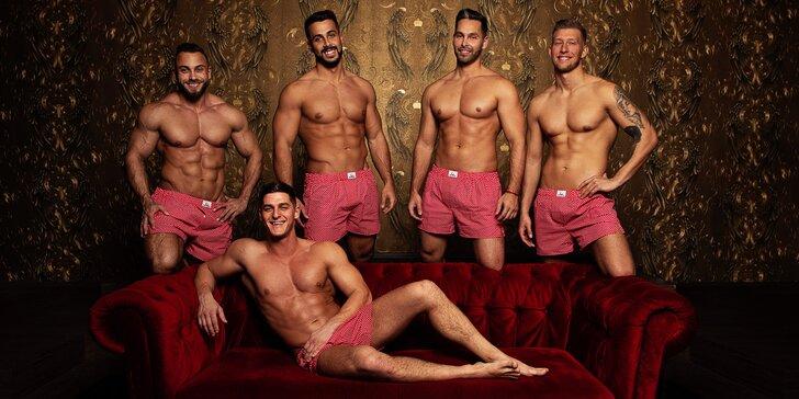 3hodinová show vymakaných těl: žhavé vystoupení pánské skupiny Men4Queen