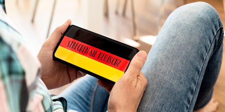 Online výuka německého jazyka: až 5 individuálních hodin s lektorem