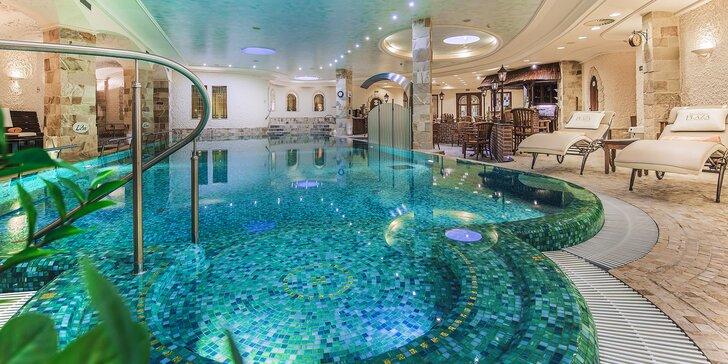 Luxusní pobyt v Karlových Varech: 5* Superior hotel Plaza se snídaní a unikátním wellnesslandem