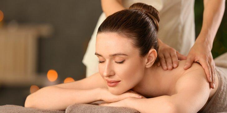 Relaxace v Royal Jasmine Spa: 70 min. masáže dle výběru a oxygenoterapie