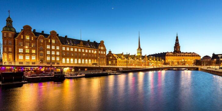 Autobusem do Kodaně: adventní trhy i prohlídka města s průvodcem