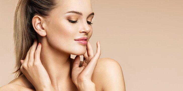 Kompletní kosmetické ošetření pleti s ultrazvukovým čištěním i masáží obličeje