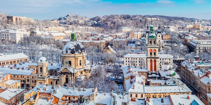 Vánoce na Východě: adventní výlet busem do Lvova, prohlídka města i trhů s průvodcem