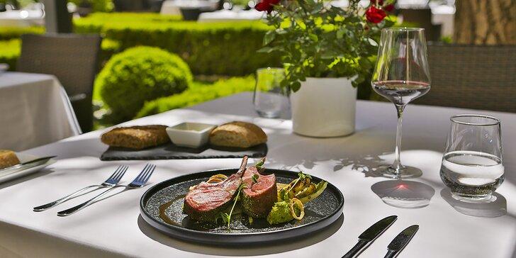 Dárkové poukazy na veškerou konzumaci v oceňované restauraci Le Grill