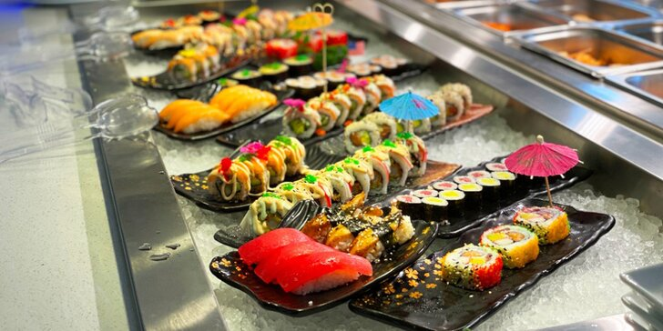 Sněz, co můžeš: oběd či večeře s neomezenou konzumací v restauraci Kyoto