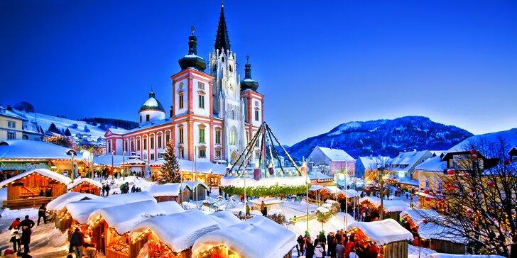 Na výlet do poutního městečka Mariazell: vánoční trhy i průvod čertů