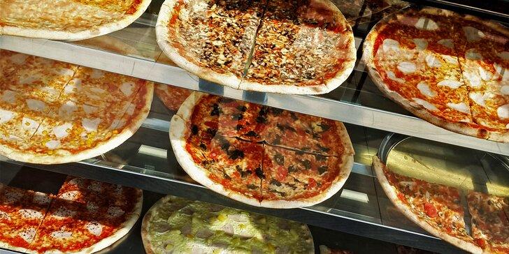 Pořádná kola: 1 nebo 2 pizzy s sebou o průměru 45 cm do krabice