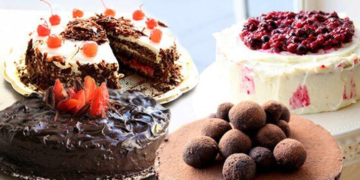 Vyberte si božský dort na oslavu nebo jen tak