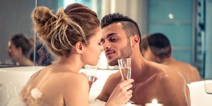 2,5 hodiny romantiky jen pro vás dva: slastné uvolnění v apartmánu s privátní vířivkou a infrasaunou